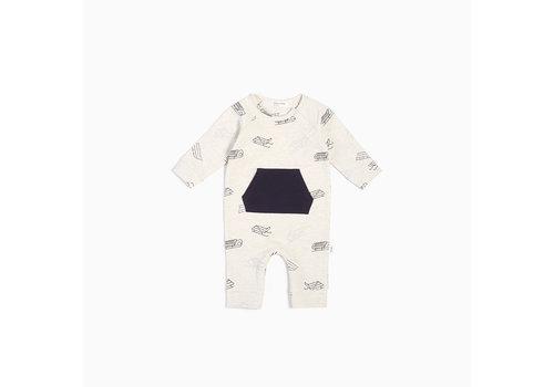 Miles Baby Brand COMBINAISON TRAÎNEAUX - BEIGE