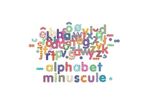 VILAC ALPHABET MAGNÉTIQUE MINUSCULE - 81 MORCEAUX