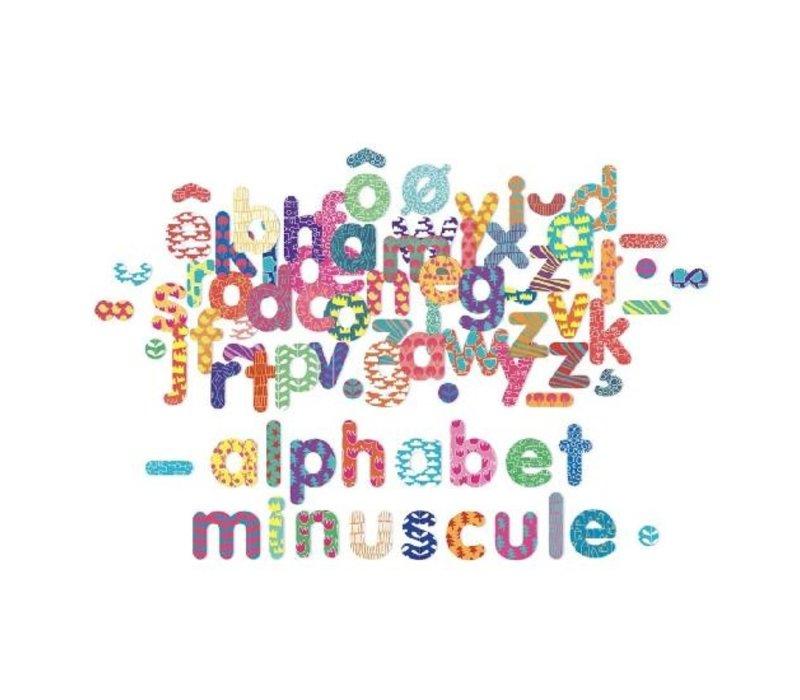 ALPHABET MAGNÉTIQUE MINUSCULE - 81 MORCEAUX