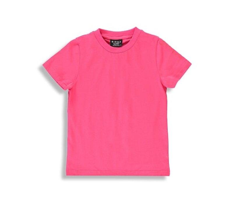 T-SHIRT BASIC - ROSE AZALÉE