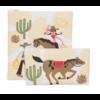 DANICA DUO POCHETTES À COLLATION - COWBOYS