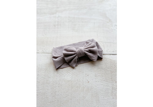 Mini Bretzel BANDEAU SUNFLOWER - GRAPHITE