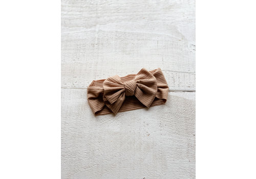 Mini Bretzel BANDEAU SUNFLOWER - TAUPE