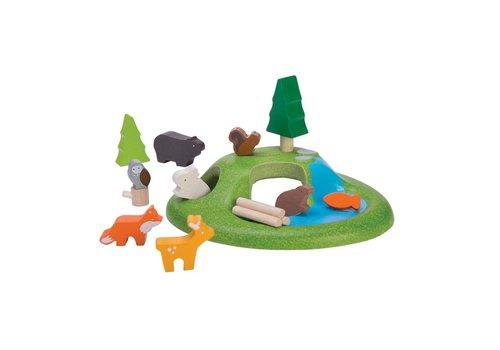 plan toys ENSEMBLE ANIMAUX