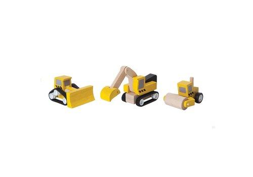plan toys ENSEMBLE VÉHICULES CONSTRUCTION ROUTE
