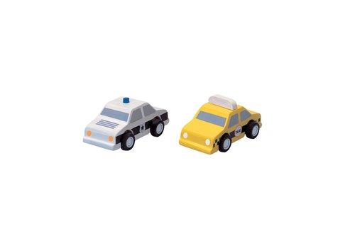 plan toys VOITURE DE POLICE & TAXI