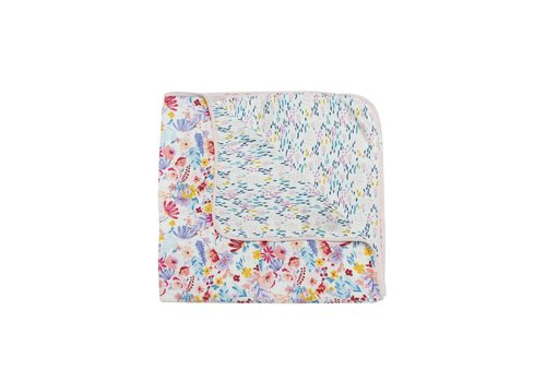 LOULOU LOLLIPOP COUVERTURE DE MOUSSELINES - LIGHT FIELD FLOWERS