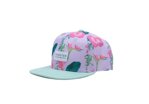 Headster Kids CASQUETTE HIBISCUS - ROSE