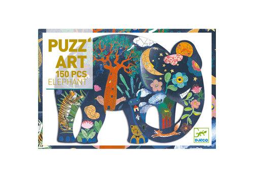 DJECO PUZZ'ART (150 MCX) - ÉLÉPHANT