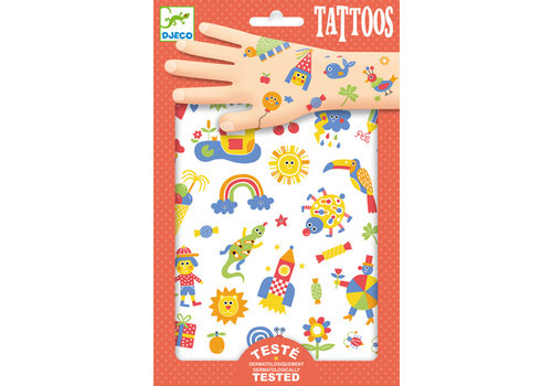 DJECO TATOUAGES- SO CUTE