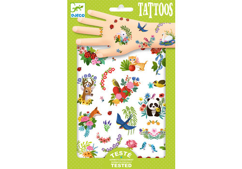 DJECO TATOUAGES- HAPPY SPRING