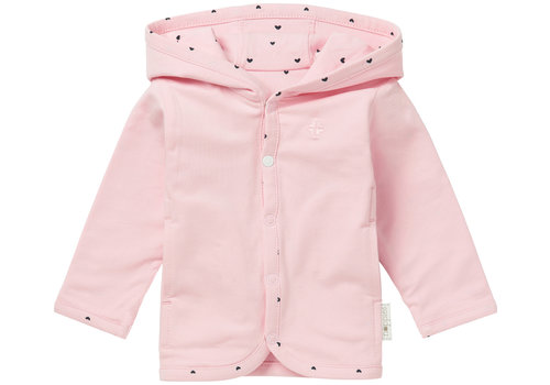 Noppies CARDIGAN RÉVERSIBLE NOVI - ROSE