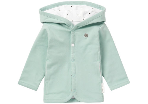 Noppies CARDIGAN RÉVERSIBLE NUSCO - MENTHE