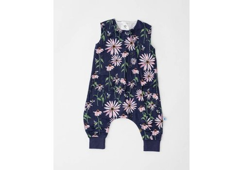 Little Unicorn ROMPER - DARK CONEFLOWER