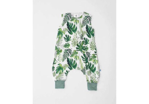 Little Unicorn ROMPER - FEUILLES TROPICALES