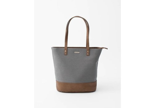 Little Unicorn SAC À COUCHES BOARDWALK TOTE - GRIS