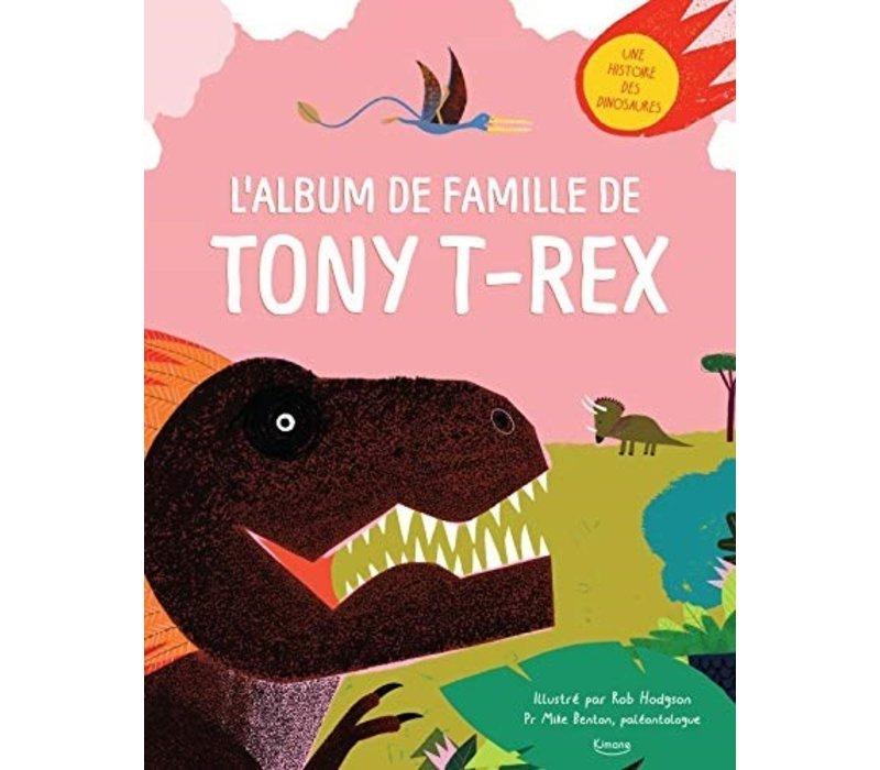 LIVRE - L'ALBUM DE FAMILLE DE TONY T-REX