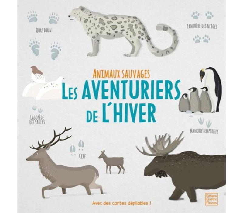 LIVRE- LES AVENTURIERS DE L'HIVER