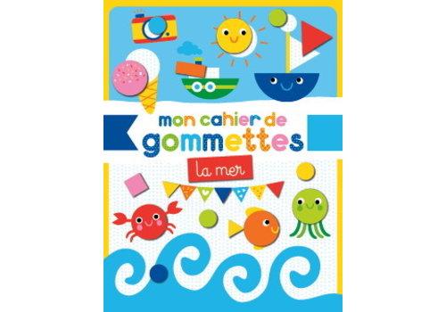 1,2,3 SOLEIL! MON CAHIER DE GOMMETTES - LA MER