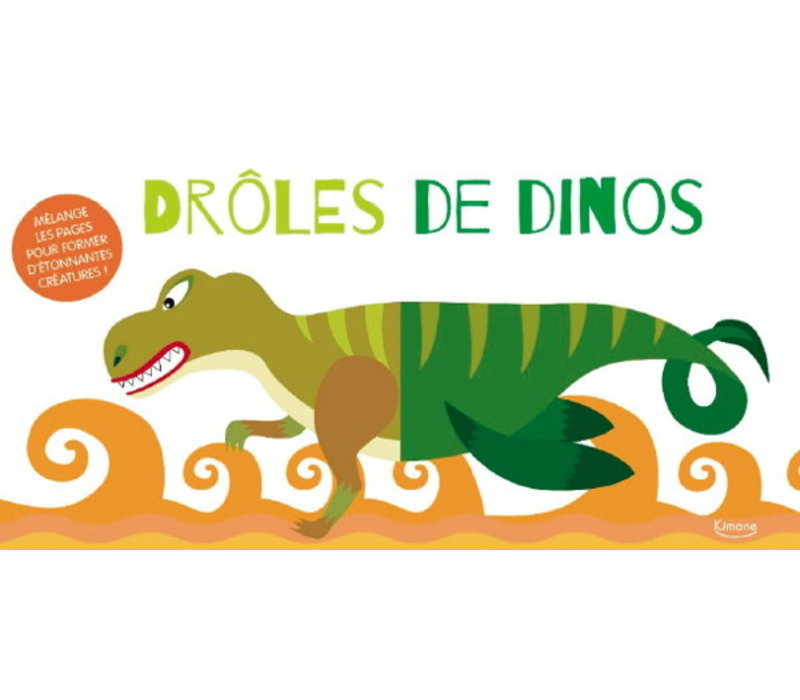 LIVRE - DRÔLES DE DINOS