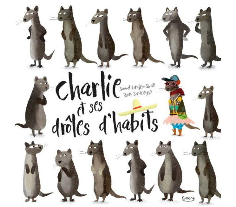 LIVRE - CHARLIE ET SES DRÔLES D'HABITS