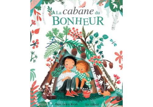 KIMANE EDITIONS LIVRE - LA CABANE DU BONHEUR