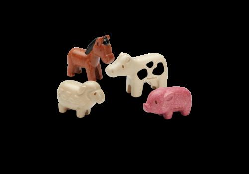 plan toys ENSEMBLE ANIMAUX DE LA FERME