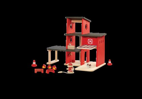 plan toys CASERNE DE POMPIER