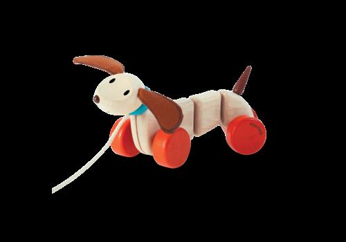 plan toys CHIOT À PROMENER