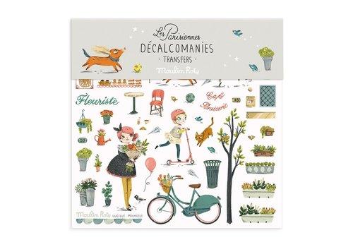 MOULIN ROTY DÉCALCOMANIES - LES PARISIENNES 1