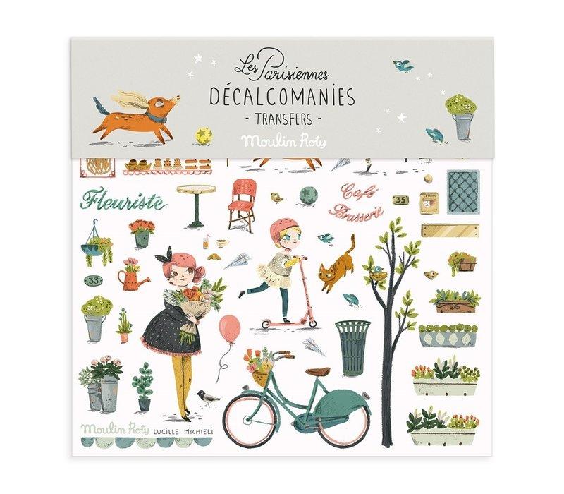 DÉCALCOMANIES - LES PARISIENNES 1