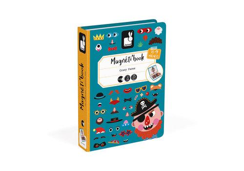 JANOD MAGNÉTI'BOOK - VISAGES GARÇONS