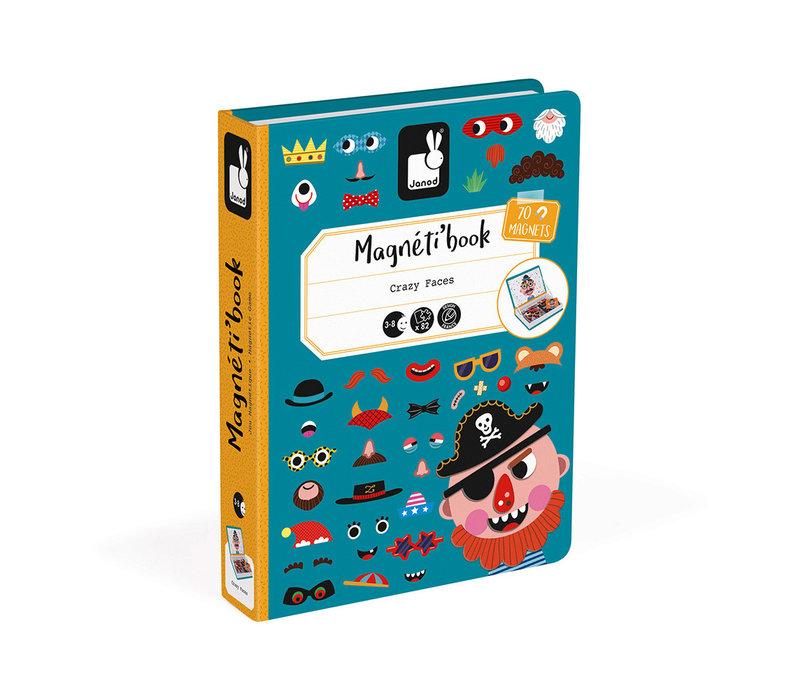 MAGNÉTI'BOOK - VISAGES GARÇONS