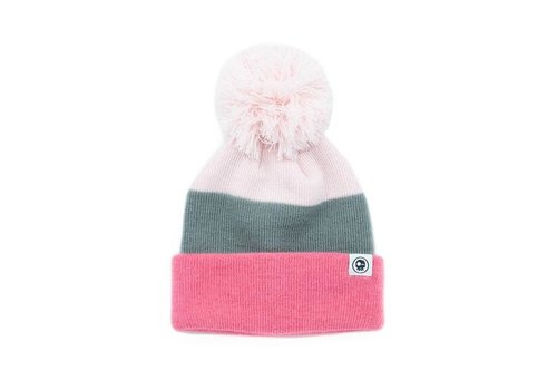 Headster Kids TUQUE - TRICOLOR PINK