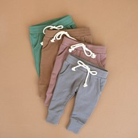 PANTALONS FRENCH TERRY - SLATE