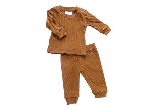 MEBIE BABY ENS. 2 MCX COTELÉ - HONEY