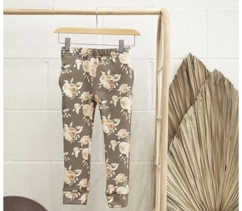 JOGGERS TERRY - FLORAL