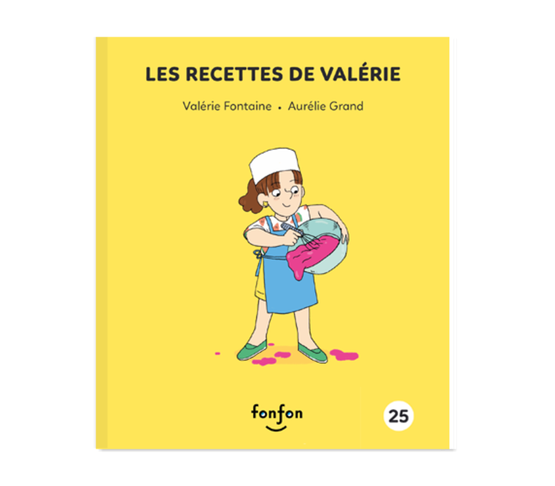 LIVRE - LES RECETTES DE VALÉRIE