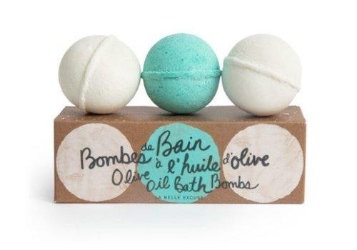 Lolo & Moi ENS. BOMBES DE BAIN À L'HUILE D'OLIVE