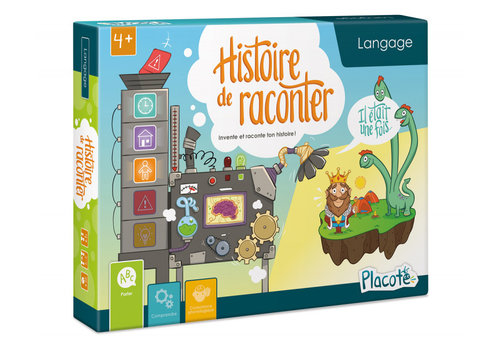 PLACOTE JEU ÉDUCATIF - HISTOIRE DE RACONTER