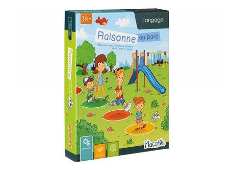 PLACOTE JEU ÉDUCATIF - RAISONNE AU PARC