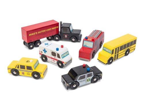 Le Toy Van ENS. DE VOITURES AMÉRICAINES