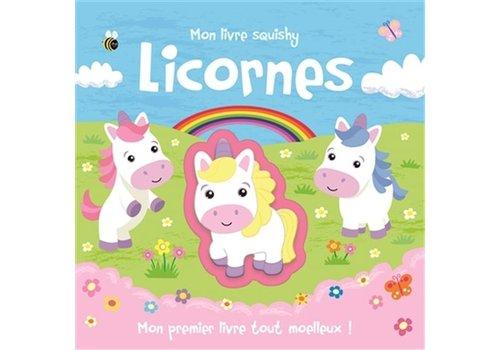 1,2,3 SOLEIL! MON LIVRE SQUISHY - LICORNE