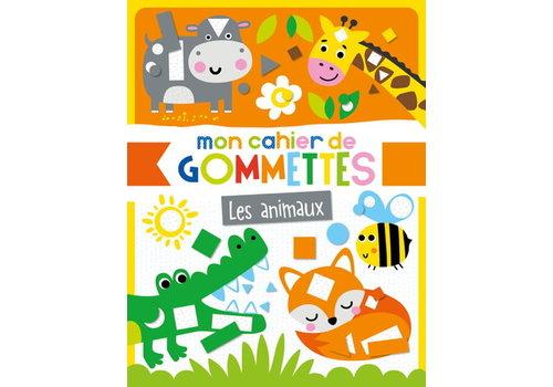 1,2,3 SOLEIL! MON CAHIER DE GOMMETTES - LES ANIMAUX