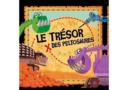 1,2,3 SOLEIL! LIVRE - LE TRESOR DES PELTOSAURES