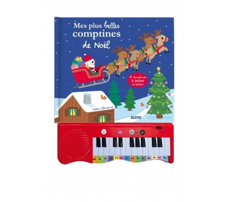 LIVRE - MES PLUS BELLES COMPTINES DE NOËL AU PIANO