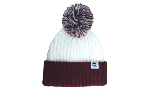 Headster Kids TUQUE 2TONE - BOURGOGNE