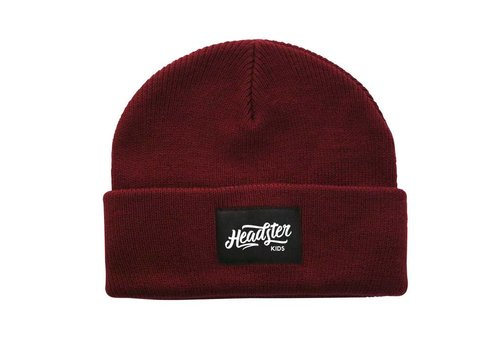 Headster Kids TUQUE LIL HIPSTER - BOURGOGNE