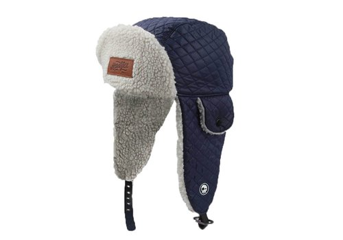 Headster Kids TUQUE ORIGINAL TRAPPERS - MARINE