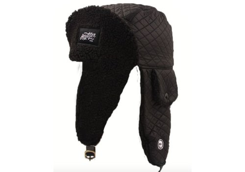 Headster Kids TUQUE ORIGINAL TRAPPERS - NOIR